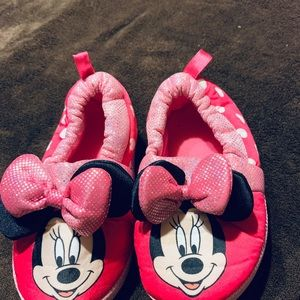 Other - Minnie Mouse Slip-On House Shoes
